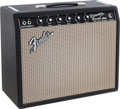 Musical Instruments:Amplifiers, PA, & Effects, 1967 Fender Princeton Reverb Black Guitar Amplifier, #A18013....