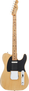 Musical Instruments:Electric Guitars, 1953 Fender Telecaster Butterscotch Blonde Solid Body ElectricGuitar, Serial # 3856....