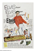 """Movie Posters:Elvis Presley, Kissin' Cousins (MGM, 1964). One Sheet (27"""" X 41""""). Air Force officer Josh Morgan (Elvis Presley) is sent to get land for a ..."""