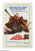"Movie Posters:War, The Last Escape (United Artists, 1970). One Sheet (27"" X 41"").Stuart Whitman plays an American Army captain who leads a gro..."