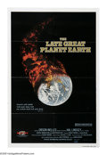 "Movie Posters:Documentary, The Late Great Planet Earth (Pacific International Enterprises, 1979). One Sheet (27"" X 41""). Based on the best-selling book..."
