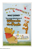 "Movie Posters:Animated, The Many Adventures of Winnie the Pooh (Buena Vista, R-1977).Poster (40"" X 60""). Three tales of the silly old bear, Pooh, w..."