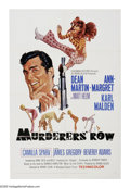 "Movie Posters:Action, Murderers' Row (Columbia, 1966). One Sheet (27"" X 41""). The secondof four Matt Helm movies has the secret agent (Dean Marti..."