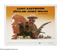"""Movie Posters:Western, The Outlaw Josey Wales (Warner Brothers, 1976). Half Sheet (22"""" X 28""""). Clint Eastwood directs this film from a script by ou..."""