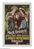 """Movie Posters:Comedy, The Perils of Petersboro (Pathe', 1926). One Sheet (27"""" X 41""""). Thesecond pairing of Alice Day and Eddie Quillan by produce..."""