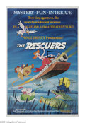 "Movie Posters:Animated, The Rescuers (Walt Disney Productions, 1977). One Sheet (27"" X41""). Bernie and Bianca (Bob Newhart and Eva Gabor), two mice..."