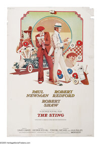 """The Sting (Universal, 1974). Poster (40"""" X 60""""). Henry Gondorff and Johnny Hooker (Paul Newman and Robert Redf..."""