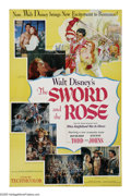 "Movie Posters:Adventure, The Sword and the Rose (RKO, 1953). One Sheet (27"" X 41""). To makepeace with France, King Henry the Eighth (James Robertson..."