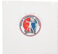 Autographs:Celebrities, Skylab II (SL-3) Crew-Signed Beta Cloth Mission Insignia. ...