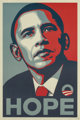 Shepard Fairey (b. 1970) Hope, 2008 Screenprint in colors on wove paper 36 x 24 inches (91.4 x 61.0 cm) Signed and d