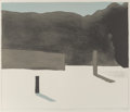Fine Art - Work on Paper:Print, Toni Onley (1928-2004). Valley to the Sea, n.d.. Lithograph in colors on wove paper. 20 x 24 inches (50.8 x 61.0 cm) (im...