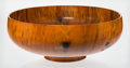 Other, Todd Campbell (American, 20th Century). Monumental Turned Bowl, 1991. Norfolk Pine. 9 inches high x 23-1/2 inches diamet...