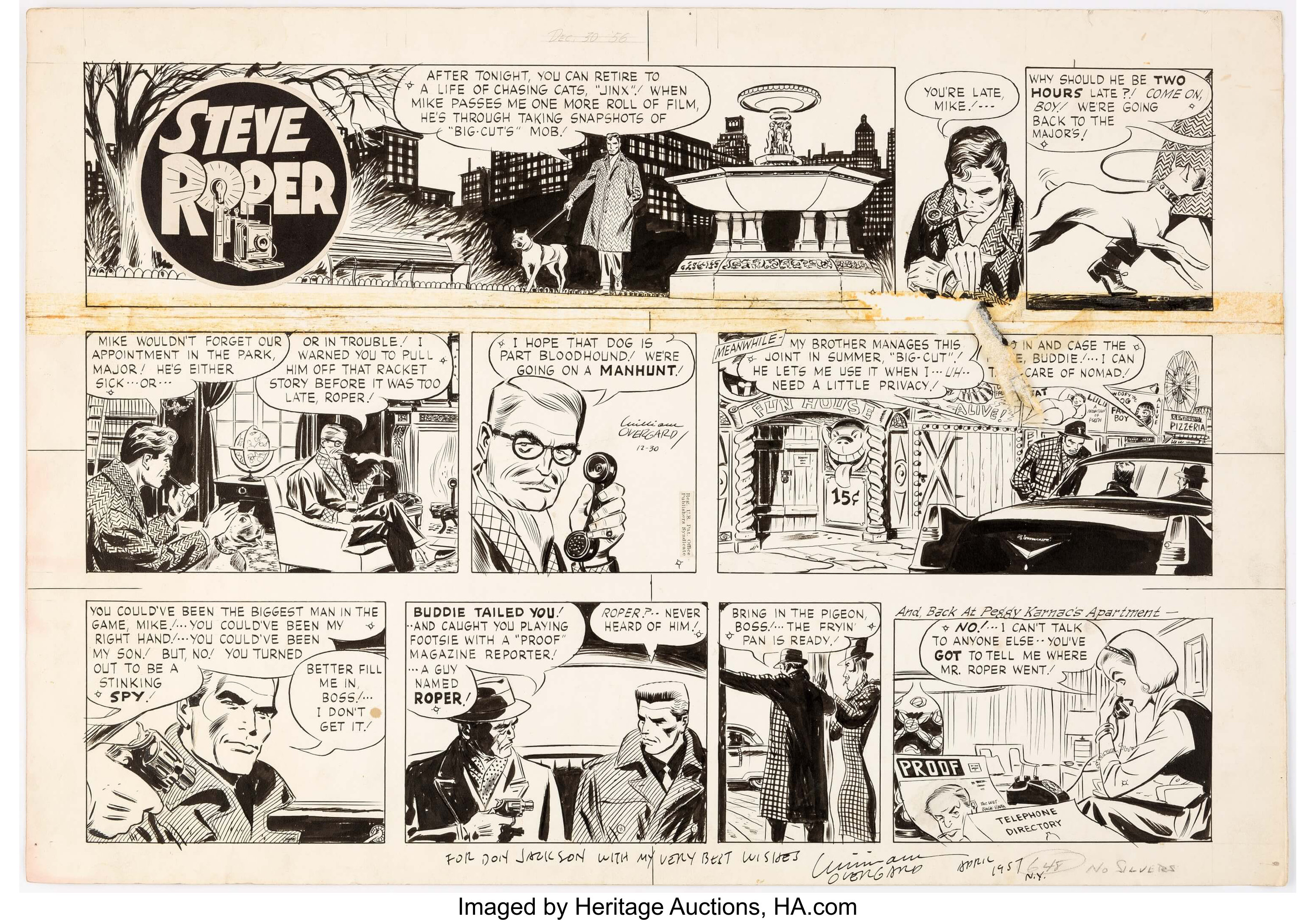 Steve Roper & Mike Nomad Original Art For Sale | ComicArtTracker