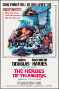 "Movie Posters:War, The Heroes of Telemark (Columbia, 1966). One Sheet (27"" X 41"").War.. ..."
