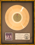 Music Memorabilia:Awards, O'Jays So Full of Love RIAA Gold Record Sales Award(Philadelphia International JZ 35355, 1978)....