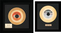 Music Memorabilia:Awards, Honey Cone - Two In-House Gold Record Awards (Hot Wax Records,1971).... (Total: 2 Items)