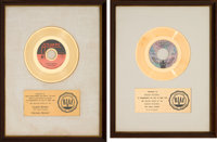 Jackie Moore / Five Stairsteps - Two RIAA White Matte Gold Sales Awards (Atlantic / Buddah, 1970)