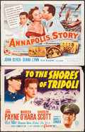 "Movie Posters:War, To the Shores of Tripoli & Other (20th Century Fox, R-1952).Half Sheets (2) (22"" X 28""). War.. ... (Total: 2 Items)"
