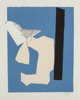 Robert Motherwell (1915-1991) Water's Edge, 1984 Lithograph and relief in colors with collage and embossing on handmad...