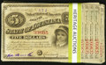 Obsoletes By State:Louisiana, (Baton Rouge), LA- State of Louisiana $5 Baby Bonds (70) ca. 1878 Cr. 29(50); Cr. 30A(20).. ... (Total: 70 notes)