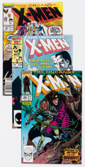 Modern Age (1980-Present):Superhero, X-Men Group of 58 (Marvel, 1982-92) Condition: Average FN....(Total: 58 Comic Books)