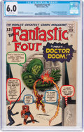 Silver Age (1956-1969):Superhero, Fantastic Four #5 (Marvel, 1962) CGC FN 6.0 Off-white pages....
