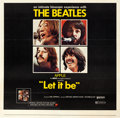 "Movie Posters:Rock and Roll, Let It Be (United Artists, 1970). Six Sheet (79.5"" X 78"").. ..."