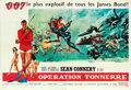 "Movie Posters:James Bond, Thunderball (United Artists, 1965). French Double Grande (63"" X92"") Frank McCarthy with Robert McGinnis Artwork.. ..."