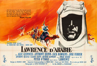 "Lawrence of Arabia (Columbia, 1962). Full-Bleed French Double Grande (62"" X 92"") Georges Kerfyser Artwork"