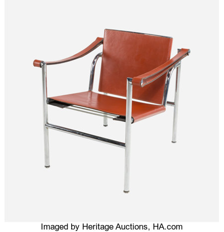 Charlotte Perriand (French, 1903-1999), Le Corbusier (French, 1887-1965), and Pierre Jeanneret (French, 1896-1967)LC1 Ch...
