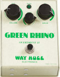 Musical Instruments:Amplifiers, PA, & Effects, Circa 1998 Way Huge Green Rhino Effect Pedal, #223....