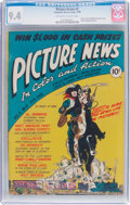 Golden Age (1938-1955):Non-Fiction, Picture News #2 (Lafayette Street Corp., 1946) CGC NM 9.4 Off-white to white pages....