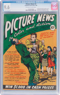 Golden Age (1938-1955):Non-Fiction, Picture News #3 (Lafayette Street Corp., 1946) CGC NM+ 9.6Off-white to white pages....
