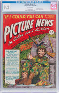 Golden Age (1938-1955):Non-Fiction, Picture News #4 (Lafayette Street Corp., 1946) CGC NM- 9.2 Off-white pages....