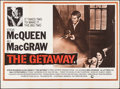 "Movie Posters:Action, The Getaway (National General, 1972). British Quad (30"" X 40"").Action.. ..."