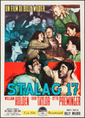 "Movie Posters:War, Stalag 17 (Paramount, 1953). Italian 2 - Fogli (39.25"" X 55"").War.. ..."