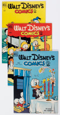 Golden Age (1938-1955):Cartoon Character, Walt Disney's Comics and Stories Group of 11 (Dell, 1950-57)Condition: Average VF.... (Total: 11 Comic Books)