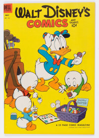 Walt Disney's Comics and Stories #152 (Dell, 1953) Condition: VF/NM