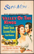 "Movie Posters:Adventure, Valley of the Kings & Others Lot (MGM, 1954). Window Cards (2)(14"" X 22"") & Trimmed Window Card (14"" X 21.5""). Adventure..... (Total: 3 Items)"