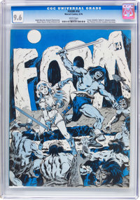 Foom #14 (Marvel, 1976) CGC NM+ 9.6 White pages