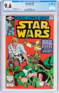Modern Age (1980-Present):Science Fiction, Star Wars #38 (Marvel, 1980) CGC NM+ 9.6 White pages....