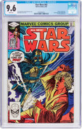 Modern Age (1980-Present):Science Fiction, Star Wars #63 (Marvel, 1982) CGC NM+ 9.6 White pages....