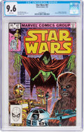 Modern Age (1980-Present):Science Fiction, Star Wars #67 (Marvel, 1983) CGC NM+ 9.6 White pages....