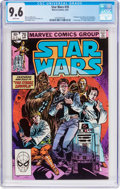 Modern Age (1980-Present):Science Fiction, Star Wars #70 (Marvel, 1983) CGC NM+ 9.6 White pages....