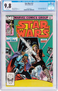 Modern Age (1980-Present):Science Fiction, Star Wars #71 (Marvel, 1983) CGC NM/MT 9.8 White pages....