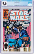Modern Age (1980-Present):Science Fiction, Star Wars #99 (Marvel, 1985) CGC NM+ 9.6 White pages....
