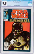 Modern Age (1980-Present):Science Fiction, Star Wars Annual #3 (Marvel, 1983) CGC NM/MT 9.8 White pages....