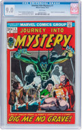 Bronze Age (1970-1979):Horror, Journey Into Mystery #1 (Marvel, 1972) CGC VF/NM 9.0 Whitepages....