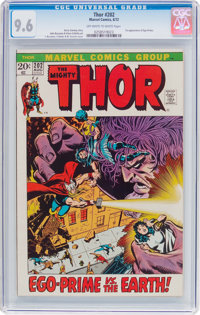 Thor #202 (Marvel, 1972) CGC NM+ 9.6 Off-white to white pages