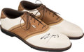 Basketball Collectibles:Others, 2000's Shaquille O'Neal Signed Personal Golf Shoes....